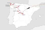 Senior 55+  Poznávací zájezd - Severní Španělsko 2015